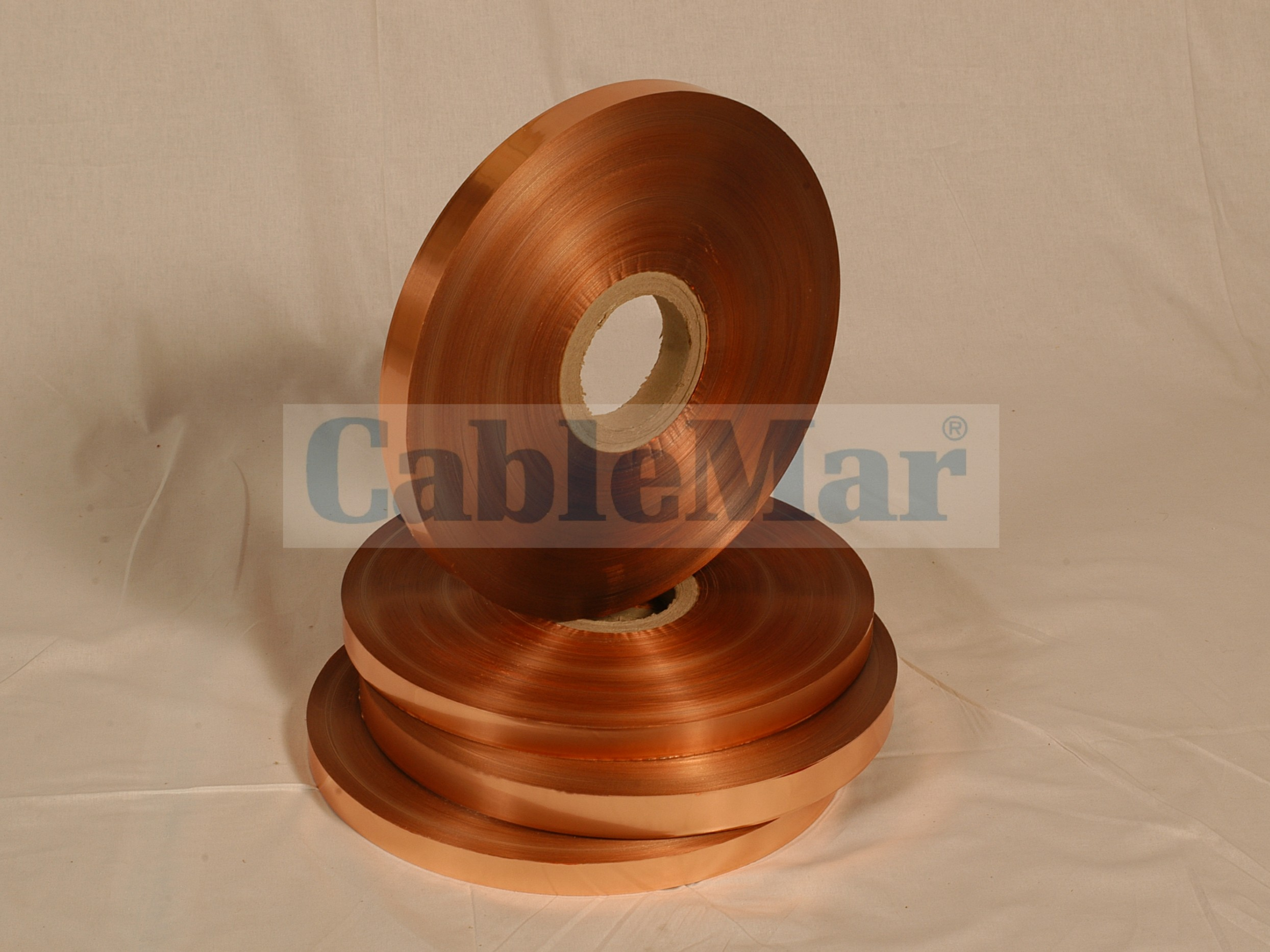 COPPER FOIL LAMINATED WITH POLYESTER TAPE